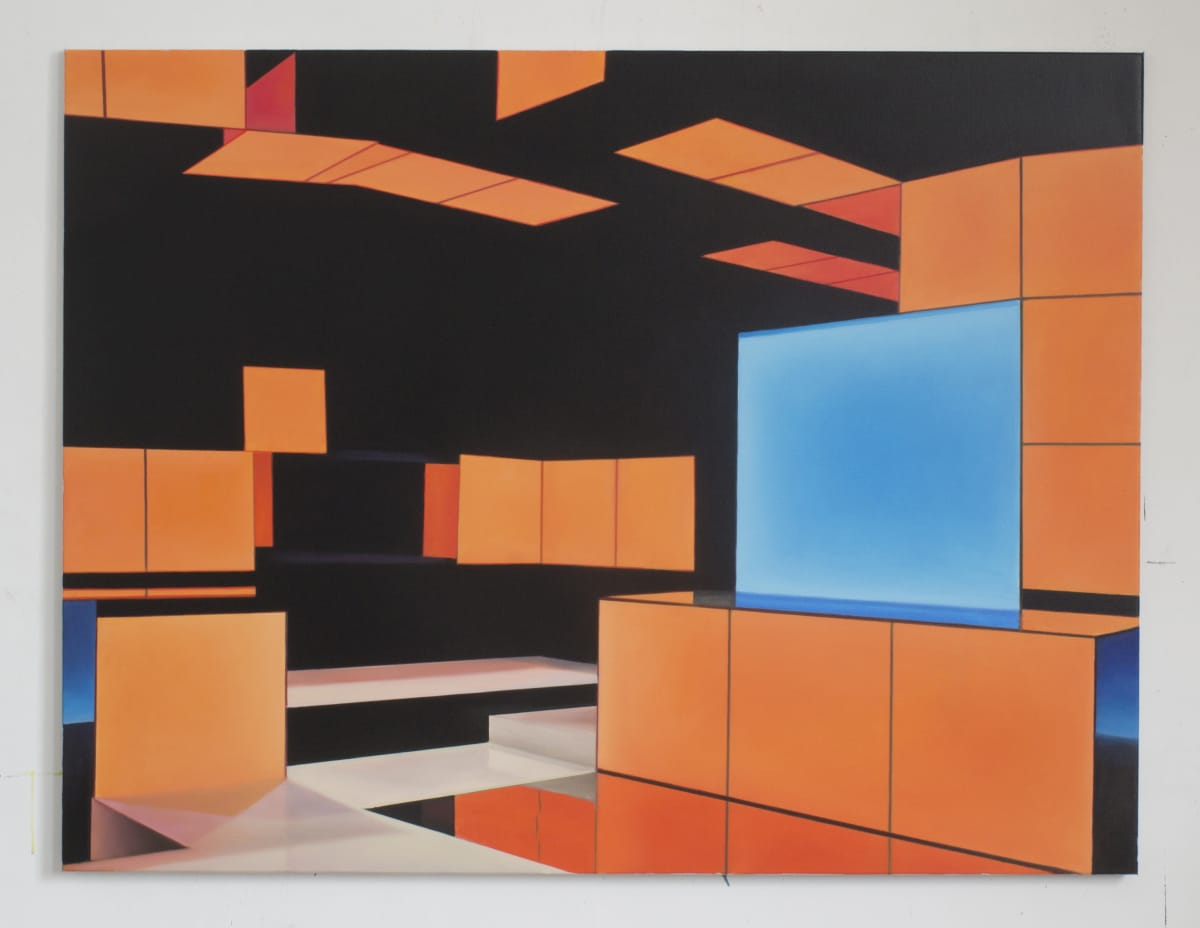 ARNOUT KILLIAN Gameshow, 2019 oil on canvas 130 x 170cm signed and dated
