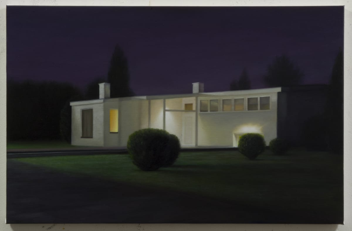 ARNOUT KILLIAN Untitled Bungalow 1 Oil on Canvas 55 x 85 cm 21 5/8 x 33 1/2 in