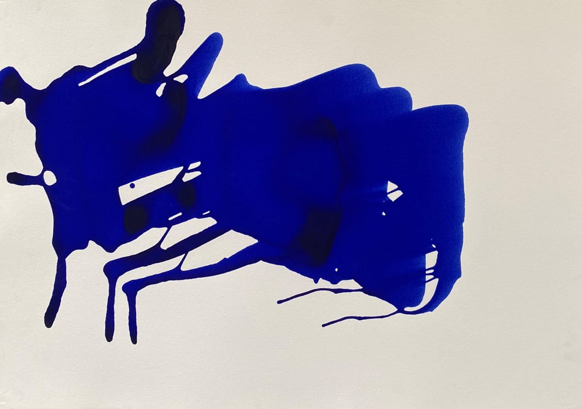 Terence Donovan Abstract 09 acrylic on paper 77 x 110cm