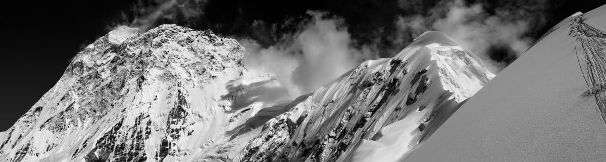 Tim Taylor Sherpas On The South East Ridge   , 2014 giclee print 90 x 257 cm 35 1/2 x 101 1/2 in Edition of 8 plus 2 artist's proofs