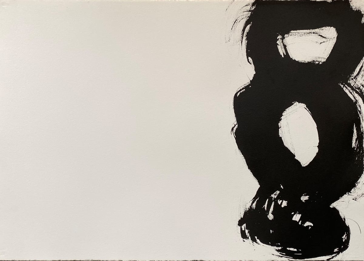 Terence Donovan Abstract 10 acrylic on paper 77 x 110cm