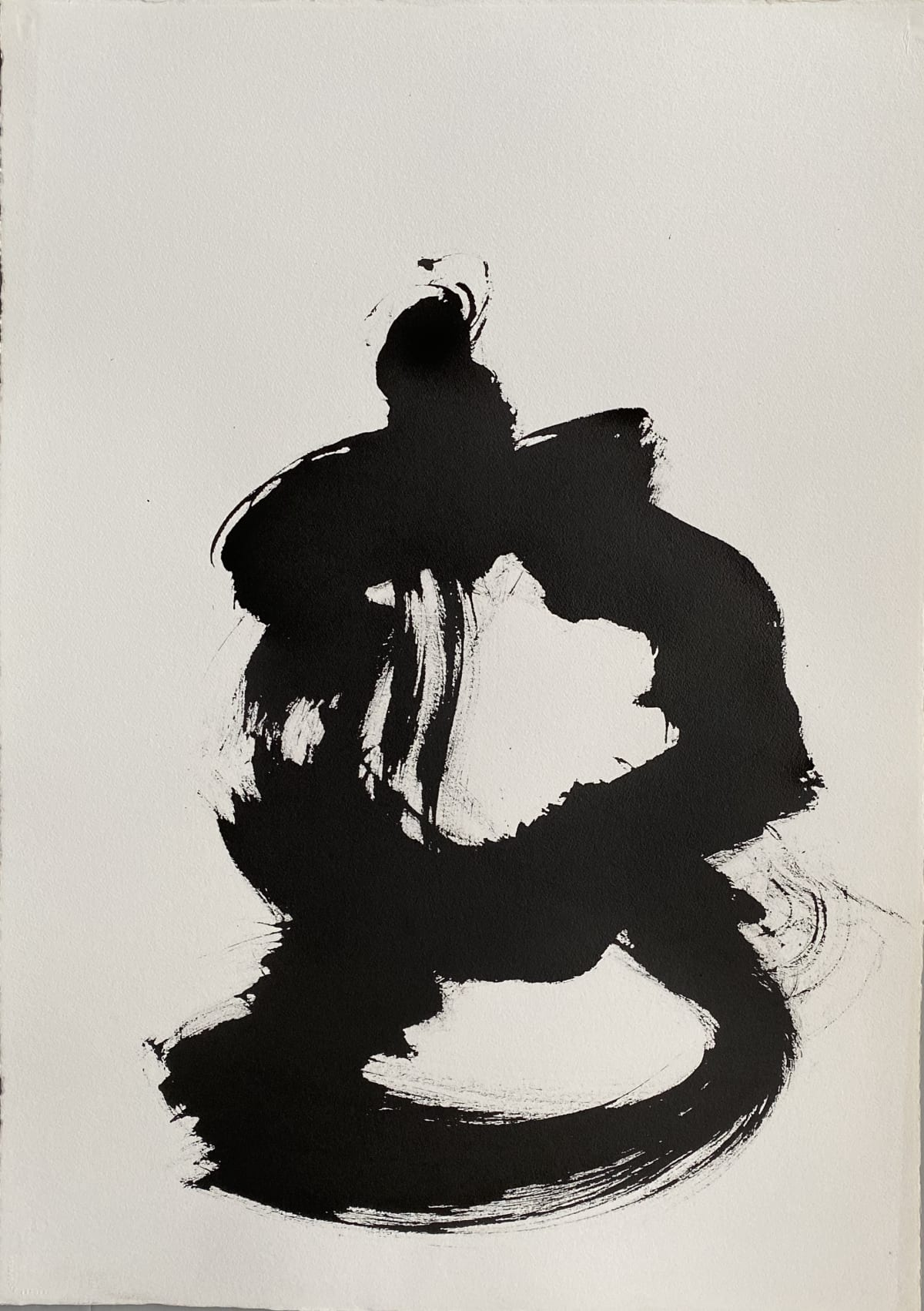Terence Donovan Abstract 02 acrylic on paper 77 x 110cm