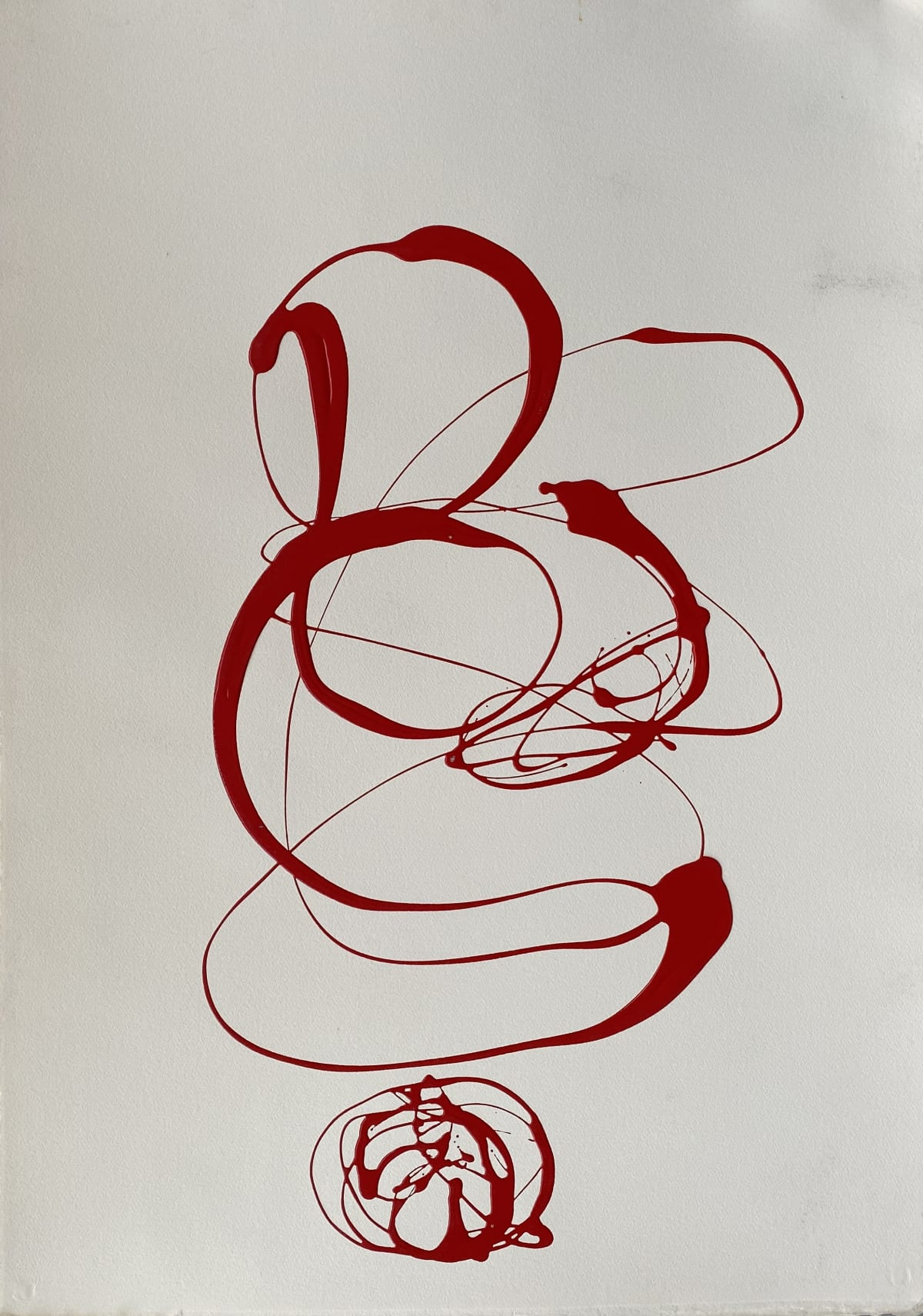 Terence Donovan Abstract 20 acrylic on paper 77 x 110cm