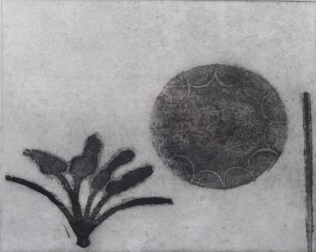Prunella Clough Shadowplay 8, 1992 Etching 18 x 22 cm edition of 19