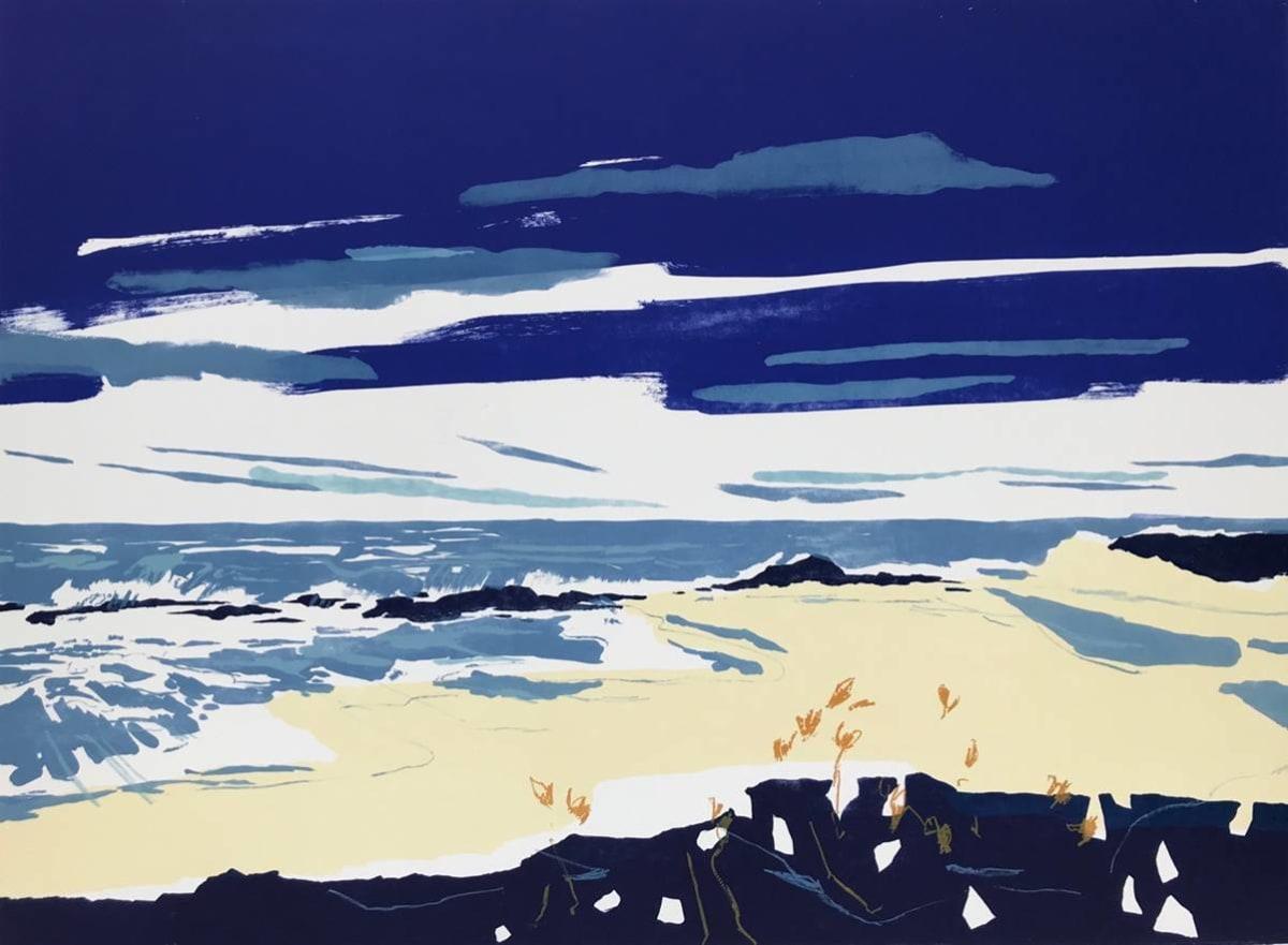 Rachel Gracey RE Pescadero Lithograph 104 x 36 cm