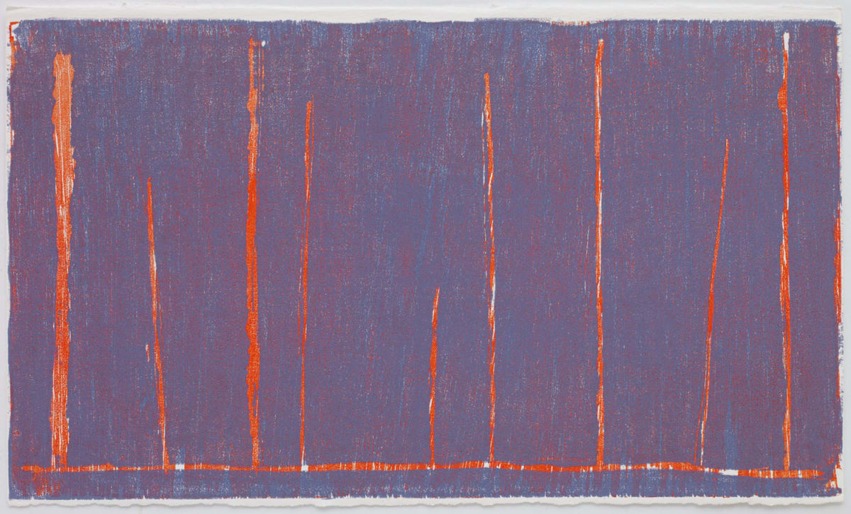 Christopher Le Brun Ideas of March II, 2019 Series of 4 woodcuts 21 x 35.5 cm Edition of 18