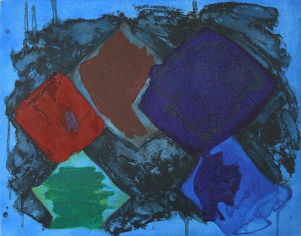 John Hoyland Night Music, 1981 Etching and aquatint with carborundum 56 x 70.5 cm edition of 60