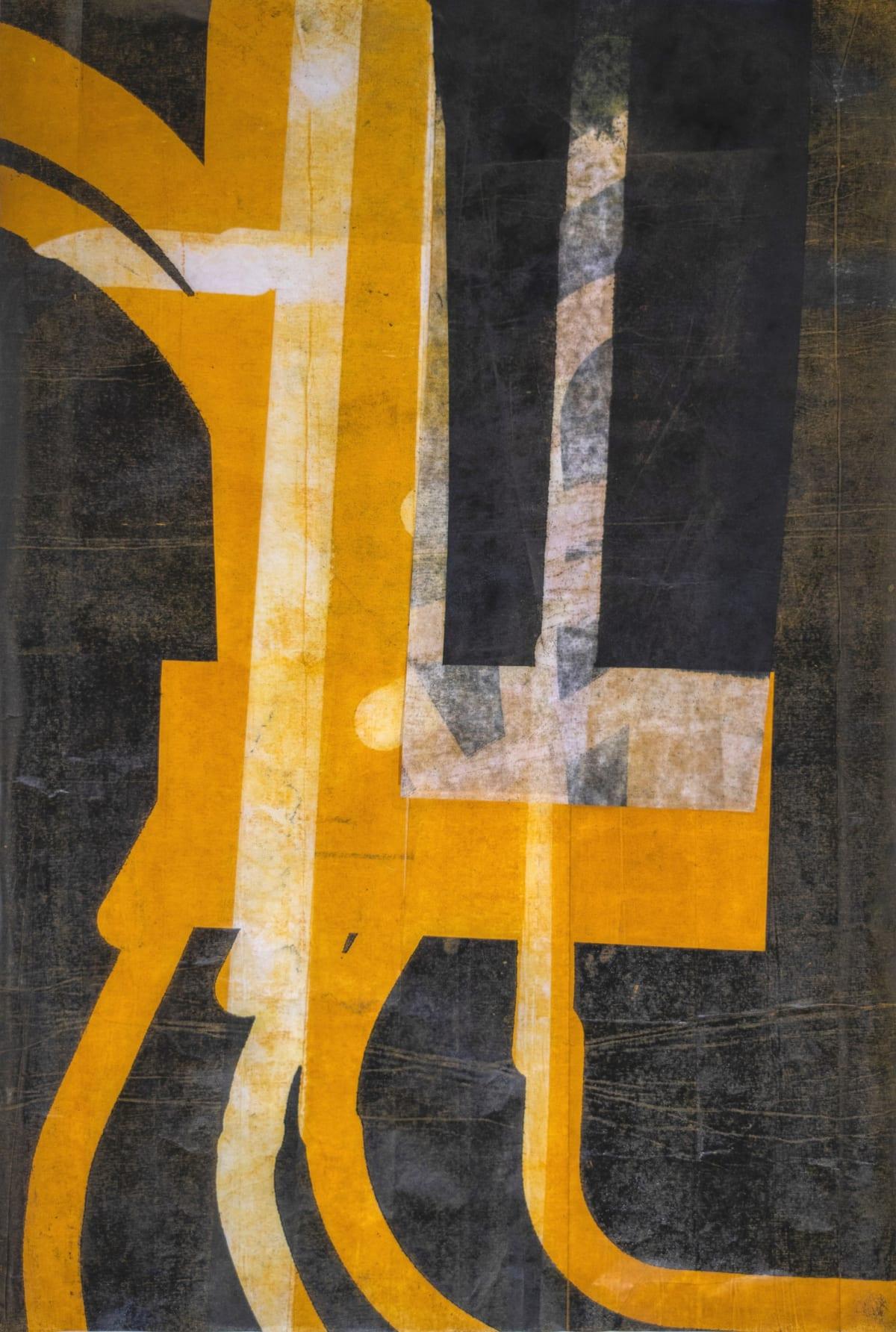 Thomas Gosebruch untitled, 2019 woodcut 46 x 31 cm unique proof