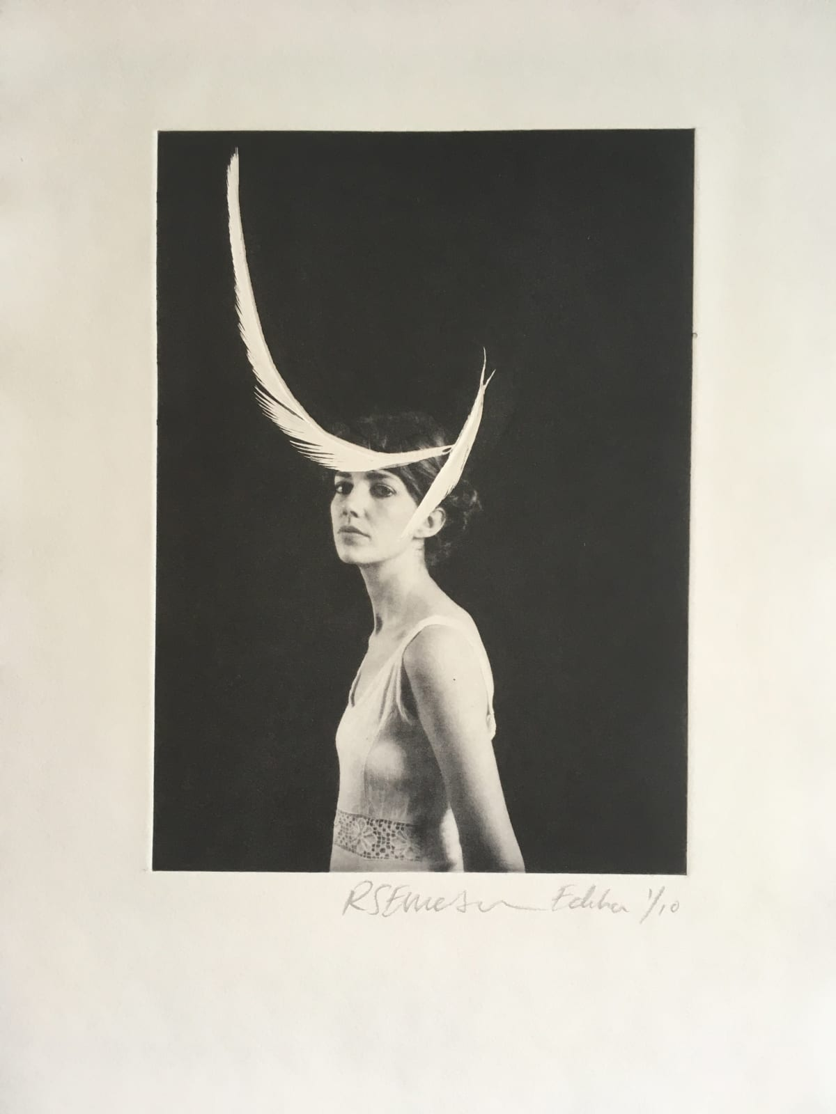 Rosie Emerson Astrapia, 2019 Limited edition photopolymer etching on paper 40 x 50cm Edition of 10