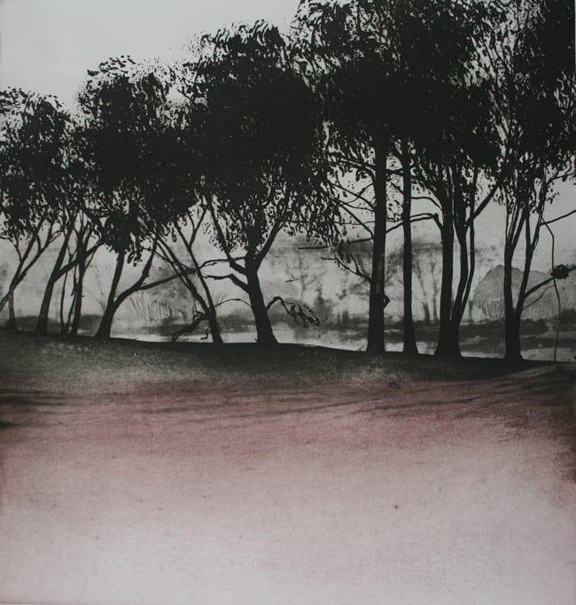 Norman Ackroyd Early Morning Rain, 1977 Etching and aquatint 42x 39 cm