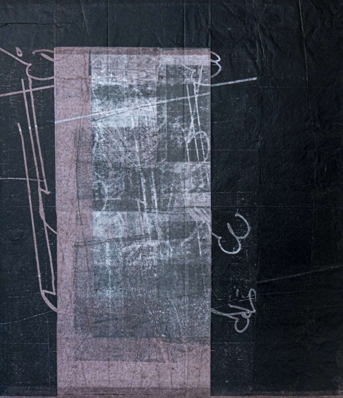 Thomas Gosebruch untitled, 2019 woodcut 57 x 50 cm unique proof