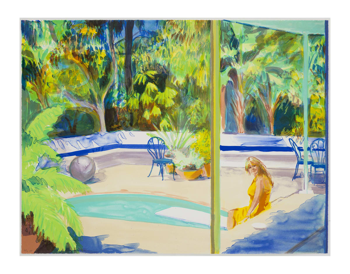 Caroline Walker Bathed, 2018 Lithograph on paper 66 x 86 cm Edition of 35