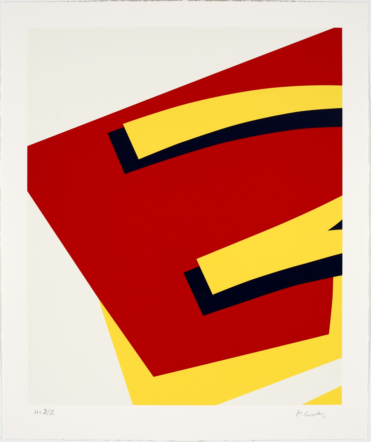 Keith Coventry Junk II, 2008 Silkscreen on Arches 300gsm 71.4 x 59 cm Edition of 50
