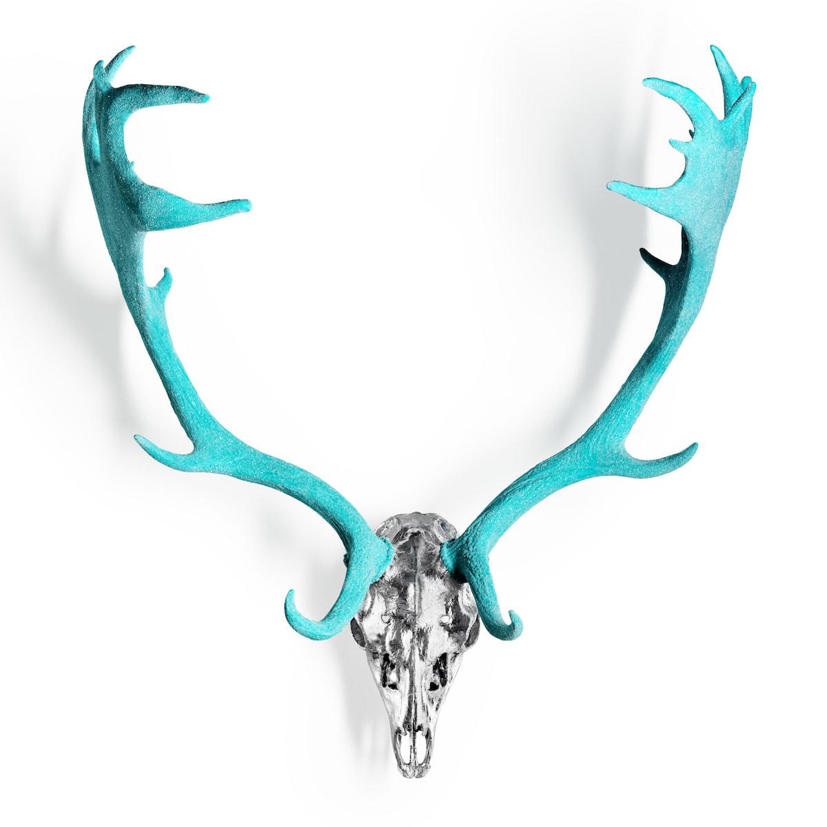 Tiffany Diamond Dust Fallow Deer - Large