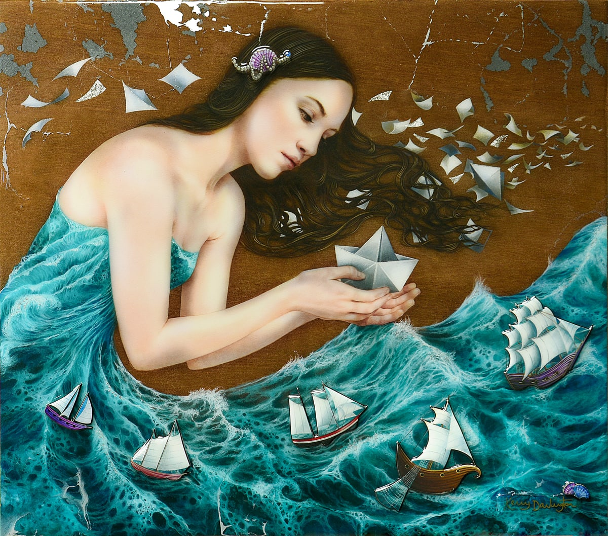KERRY DARLINGTON, THE PAPER BOAT