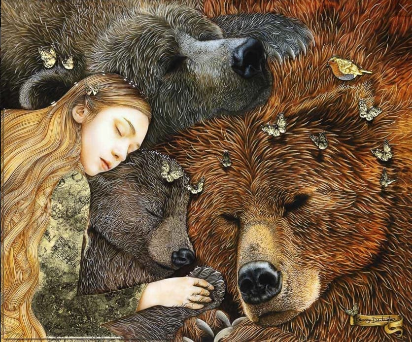 KERRY DARLINGTON, Goldilocks And The Three Bears