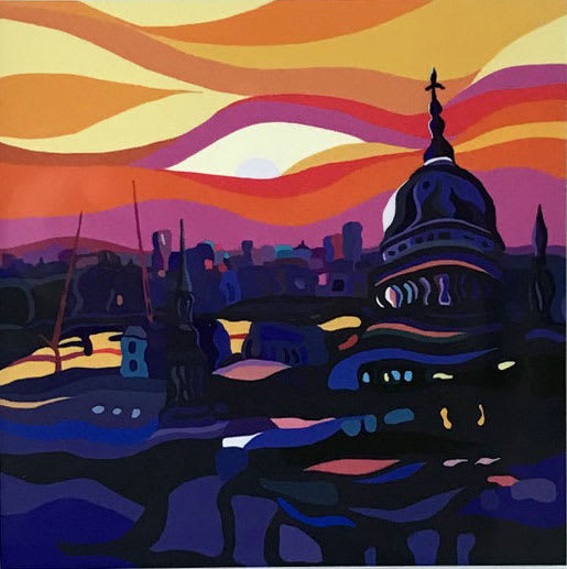 ST PAULS SUNSET - MINI