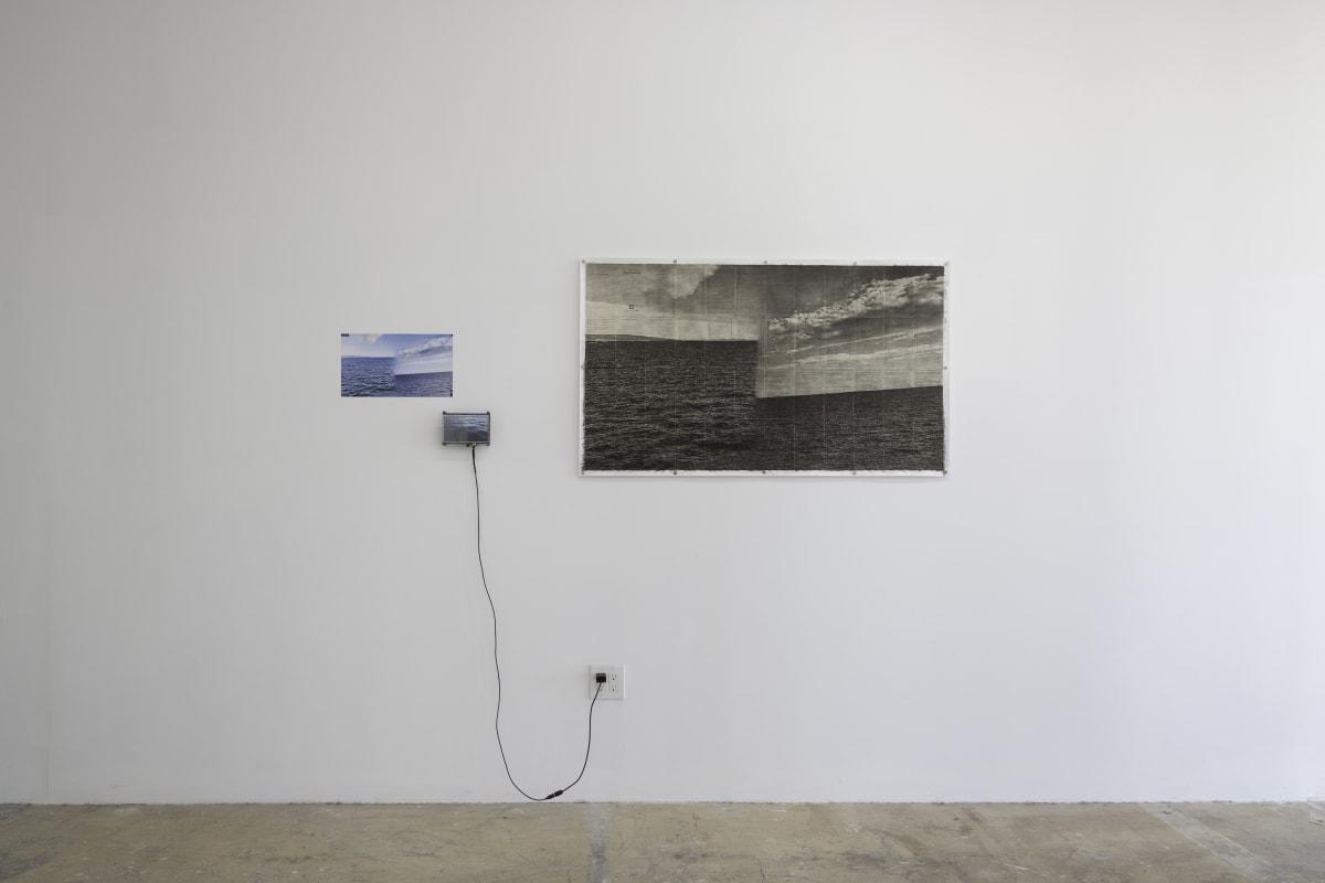 Li Shun, Sketch - Ocean 1, 2018