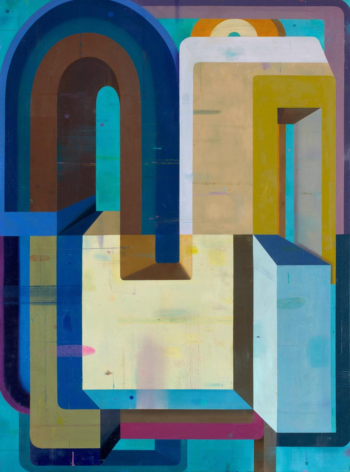 Deborah Zlotsky Gainsay, 2019 oil on canvas 36 x 48 in.