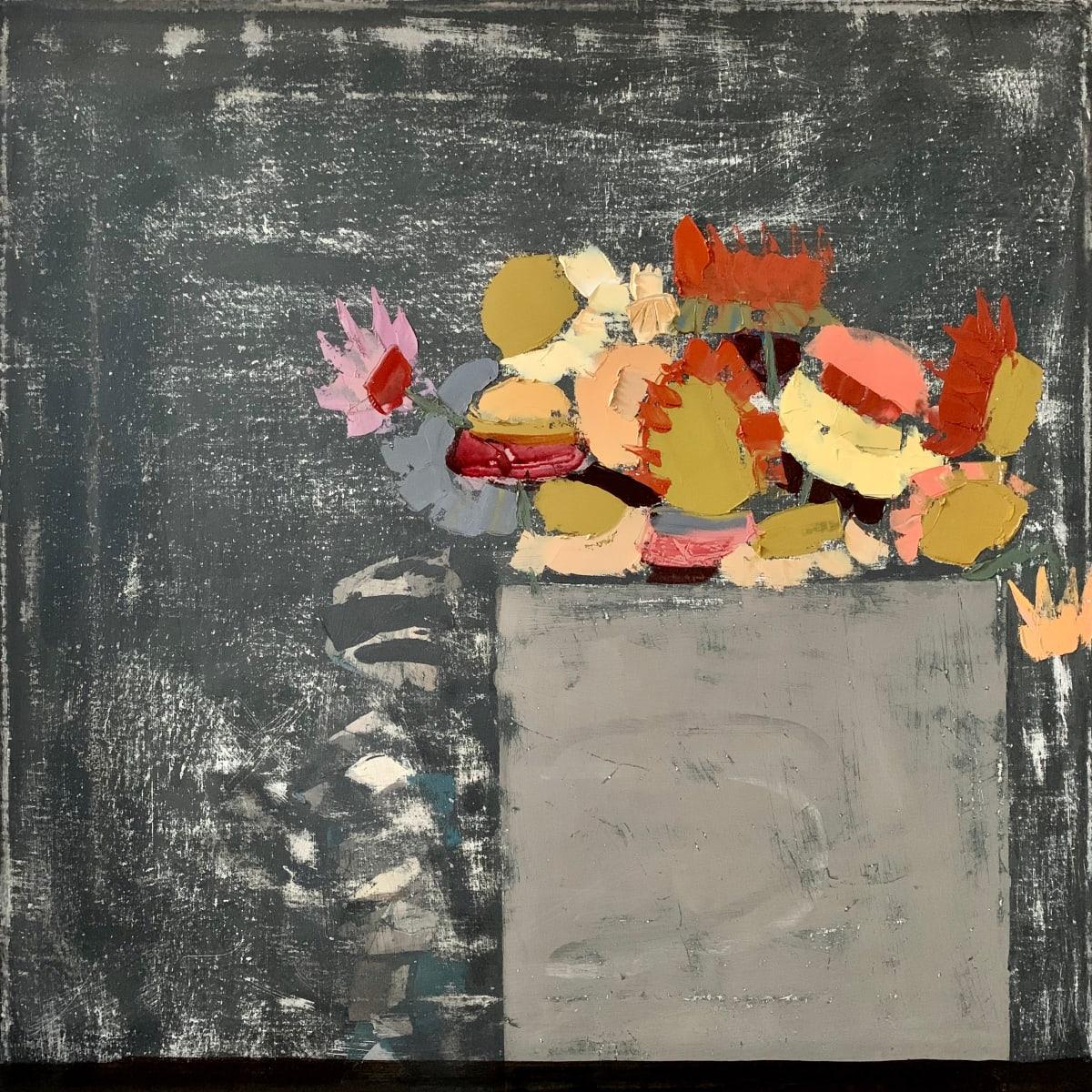 Sydney Licht, Still Life with Flowers, 2019