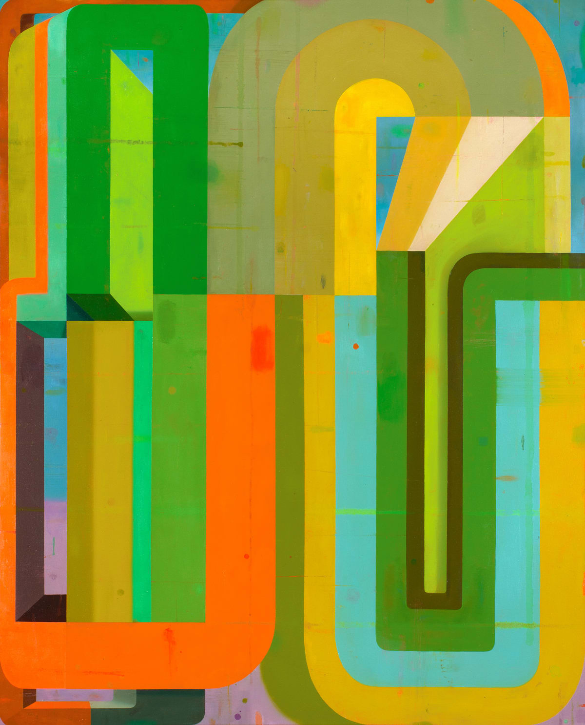 Deborah Zlotsky Lovechild, 2019 oil on canvas 48 x 60 in.