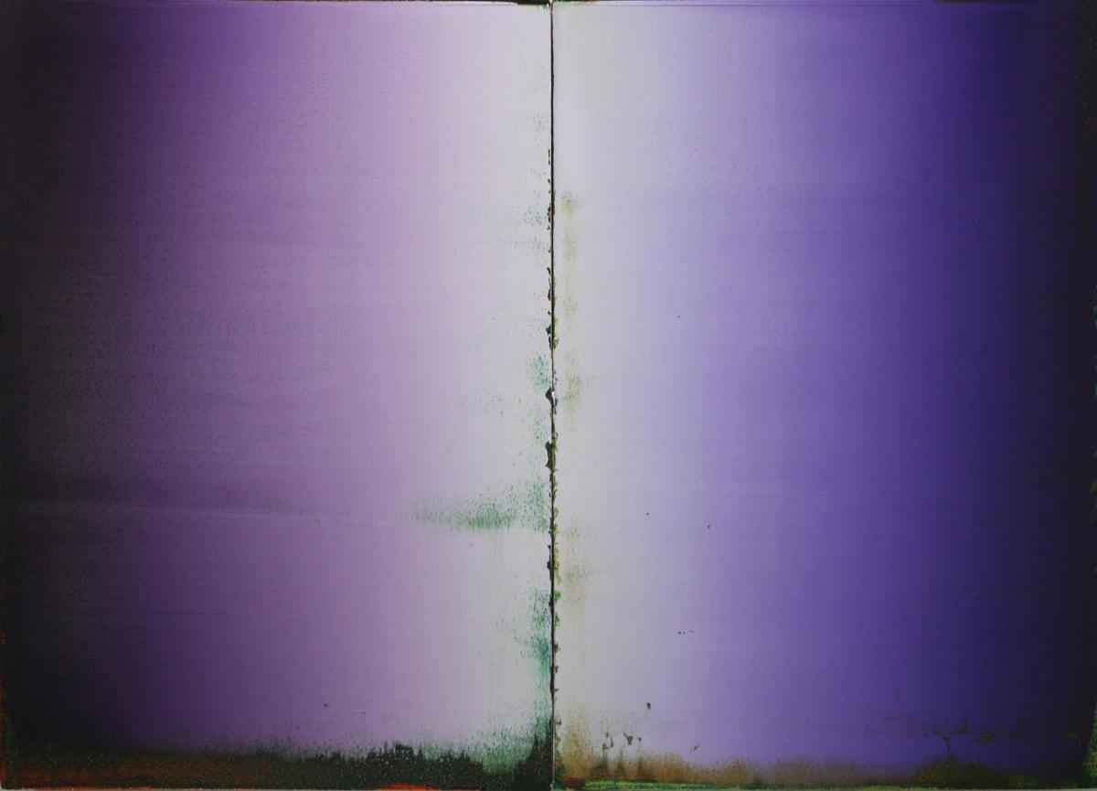 Stephen Pentak 2019,I.II , 2019 oil on panels 20 x 28 in.