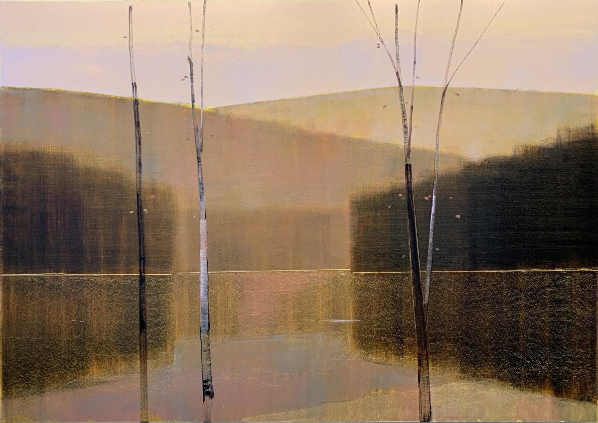Stephen Pentak 2019, VII.I, 2019 oil on panel 39 x 55 in.