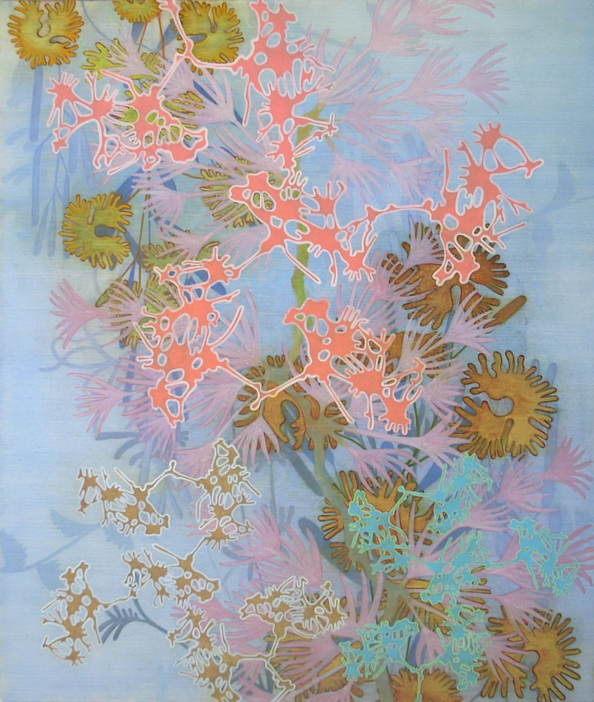 Annette Davidek Untitled, #18-06, 2018 oil on birch panel 38 x 32 in.