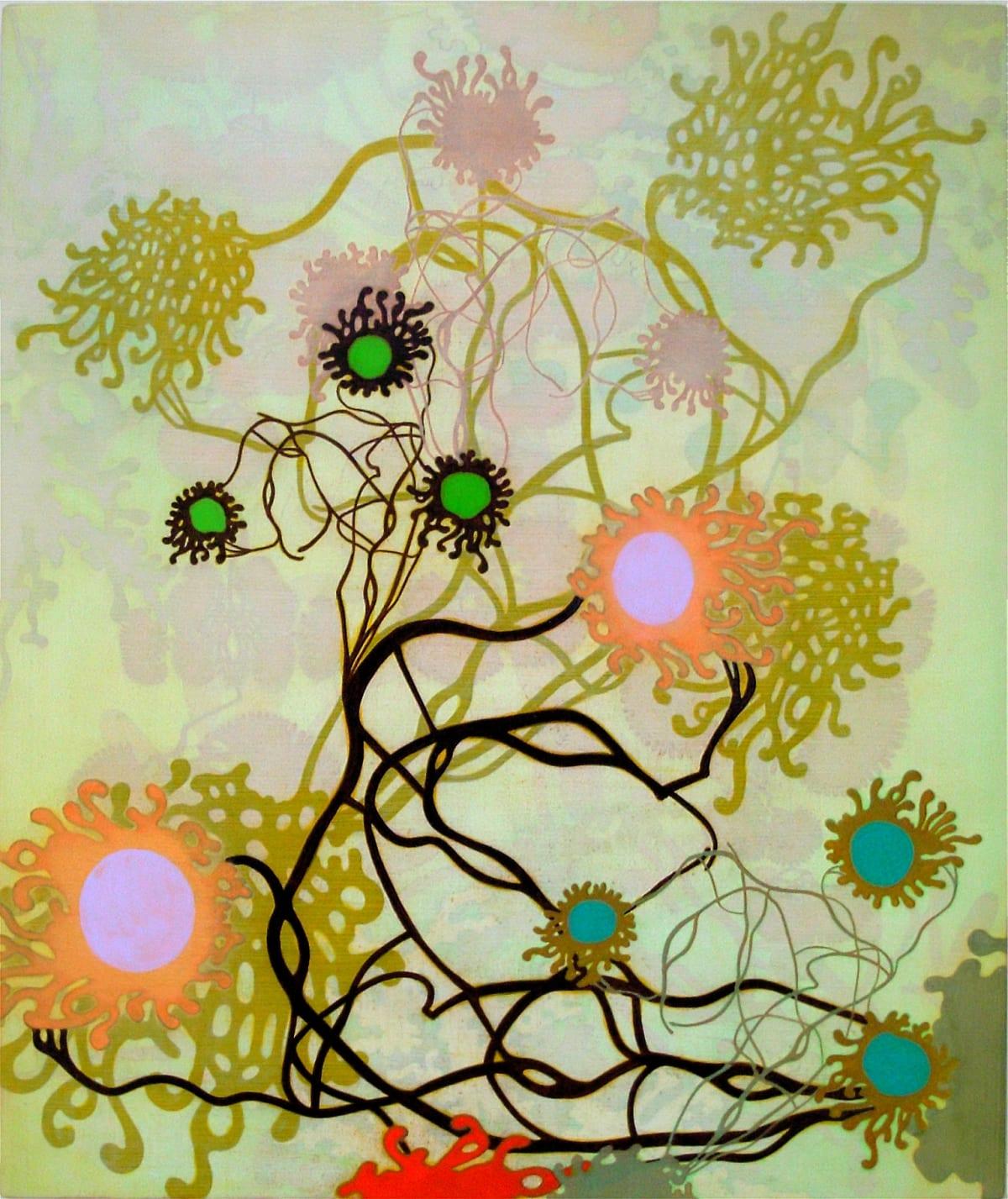 Annette Davidek Untitled, #17-04, 2017 oil on birch panel 38 x 32 in.