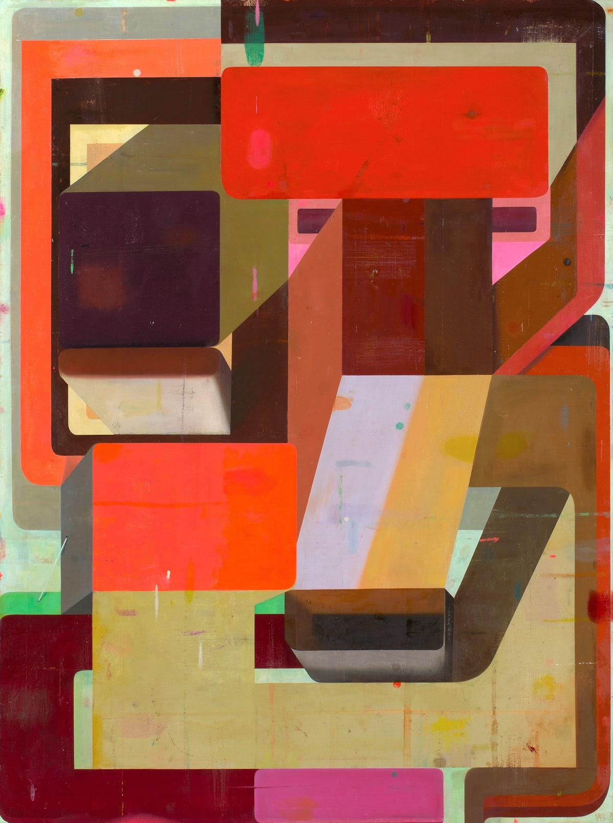 Deborah Zlotsky Lady Marmalade, 2019 oil on canvas 48 x 36 in.