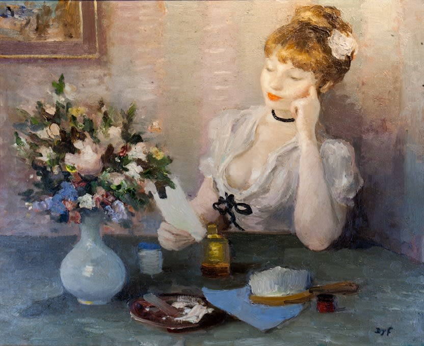 Marcel Dyf, Claudine songeuse (Claudine Pensive)