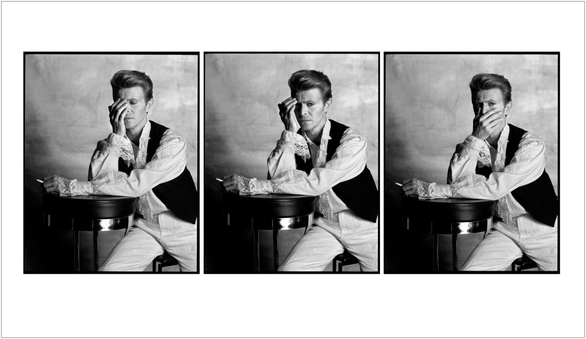 Tony McGee, Untitled (David Bowie Triptych 1988), 2019