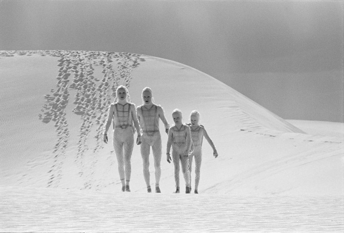Geoff MacCormack, David Bowie: White Sands, 1975, 1975