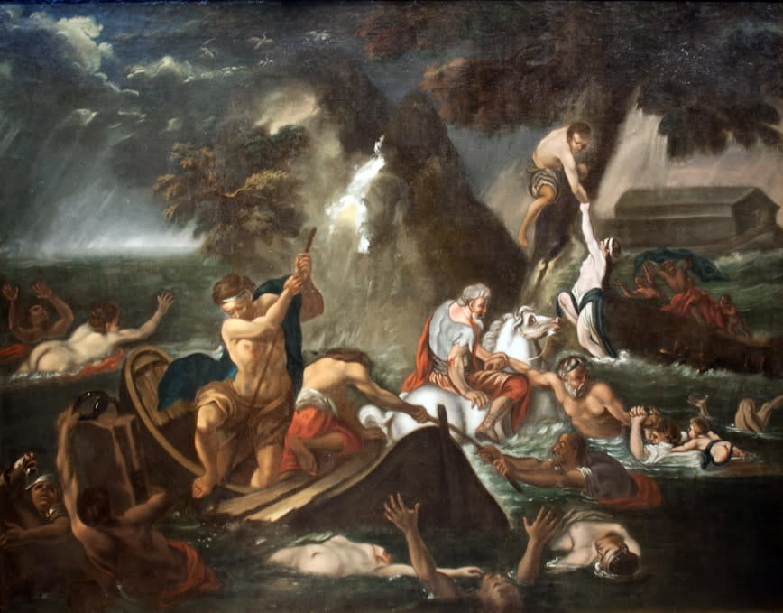 Italian School (Possibly Rome, XVII Century), The Great Flood