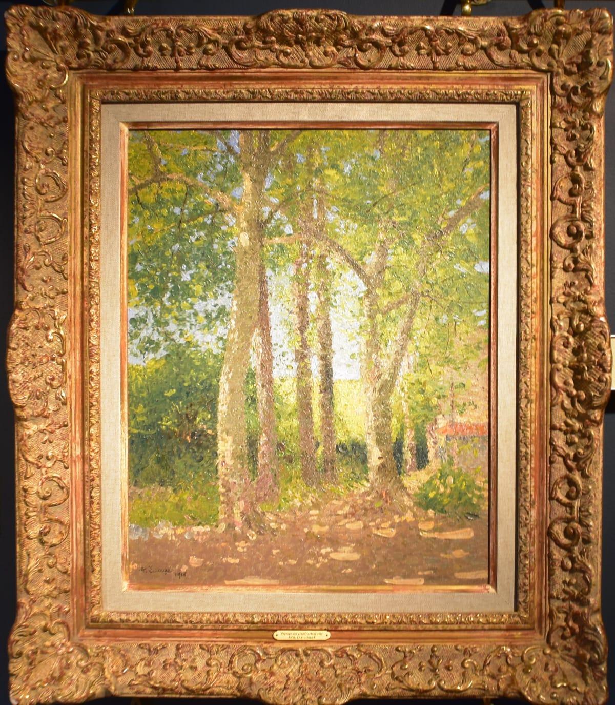Achille Laugé, Paysage aux Grands Arbres, 1916