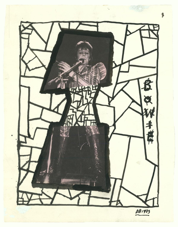 Derek Boshier, David Bowie 1979, 1979