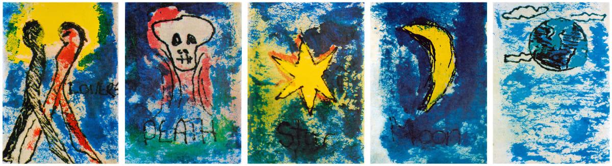 David Bowie, Arcane Series | Lovers, Death, Star, Moon, Earth, 1975