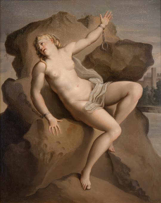 Italian School, Andromeda Chained to the Rock