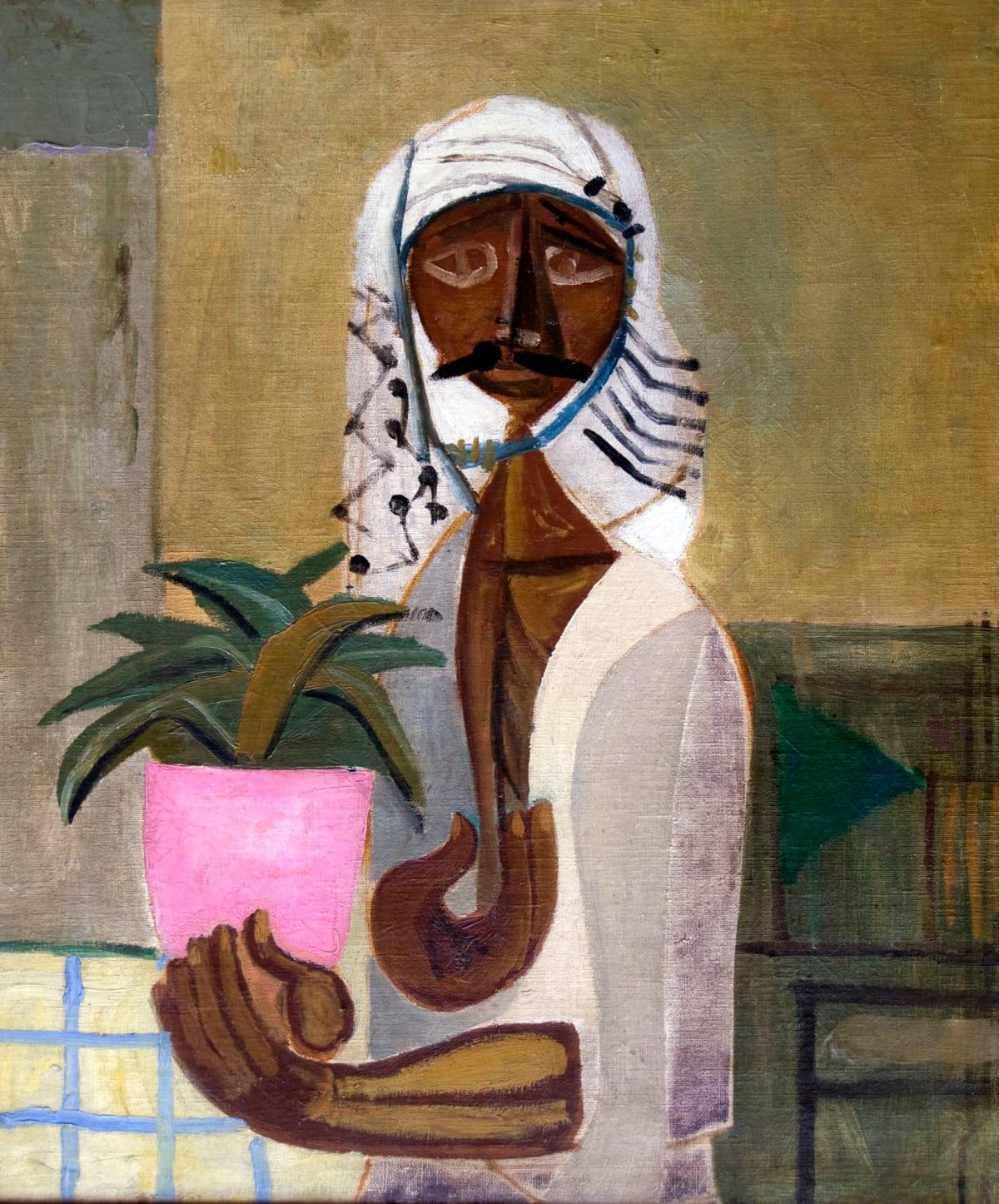 Jewad Selim - The Gardener , 1950