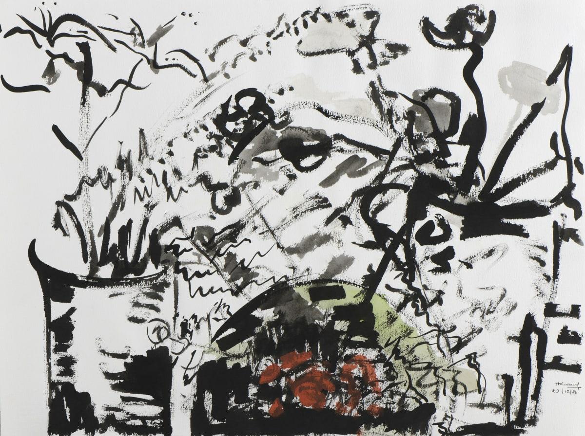 Huguette Caland - Untitled, 1986