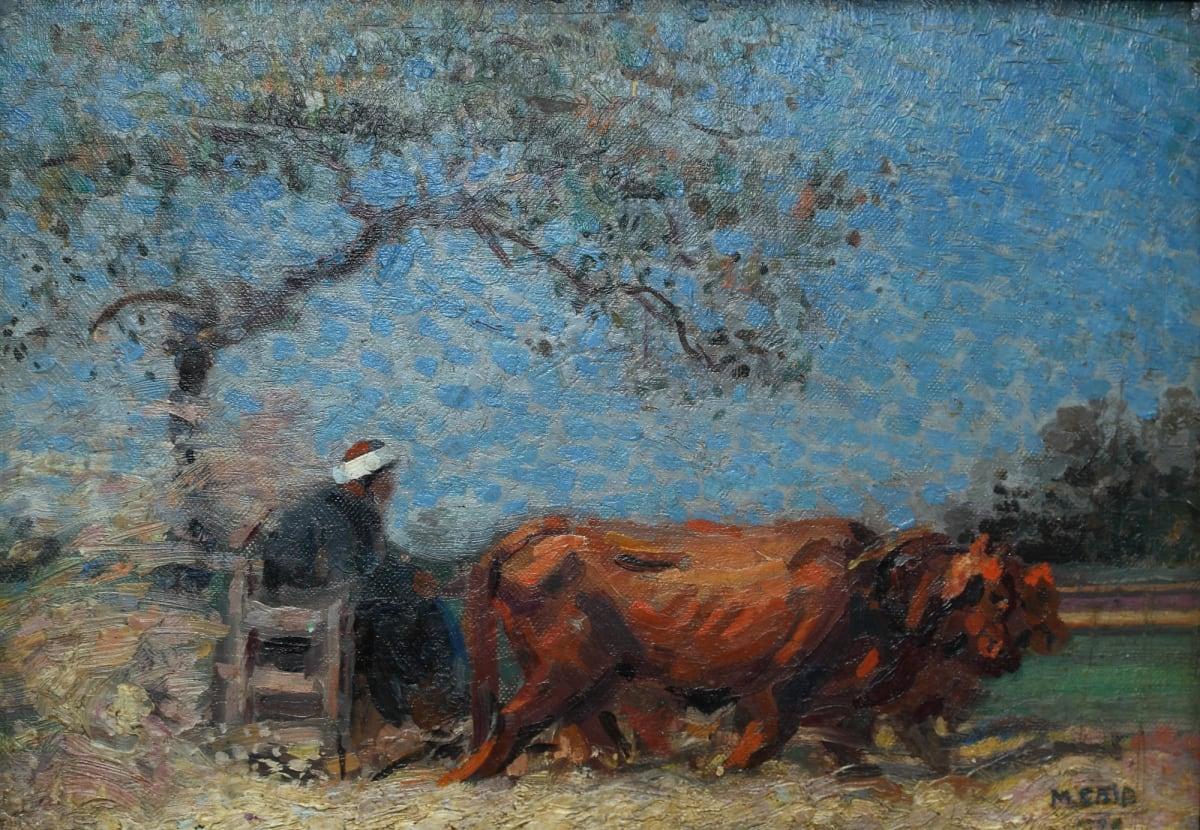 Mahmoud Said - El Norag (The Plow), circa 1920s