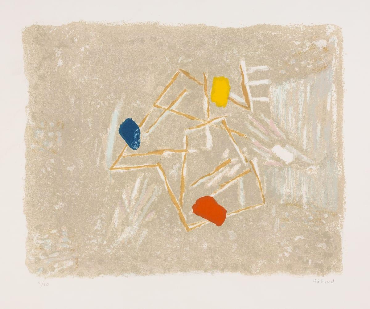 Chafic Abboud - Le Jeu de la ficelle, 1985