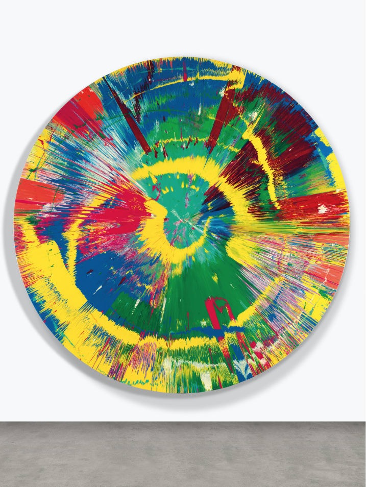 Damien HIRST Beautiful Mis-shapen Purity Clashing Excitedly Outwards Painting, 1995