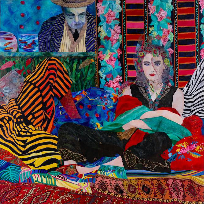 Danièle AKMEN, Matisse ou, le modèle et son peintre, 1990