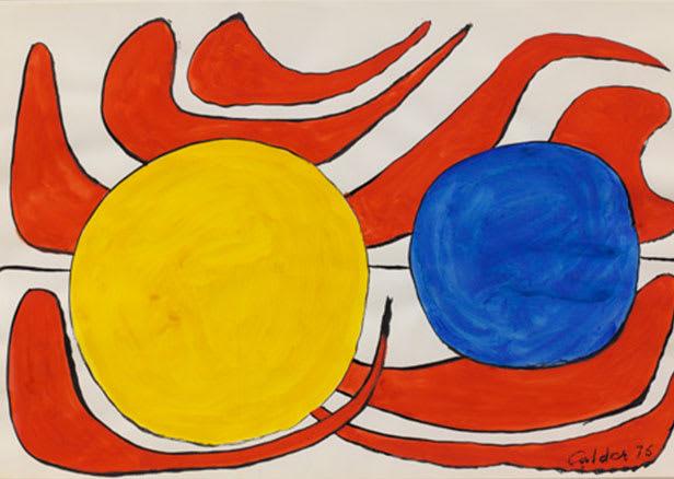 CALDER Alexandre, Untitled, 1976