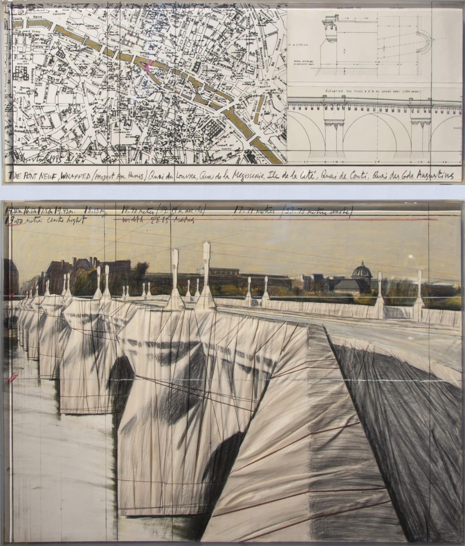 CHRISTO, The Pont Neuf, Wrapped, 1985