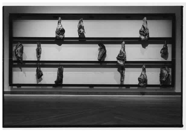 KOUNELLIS Jannis, Guernica, 1998
