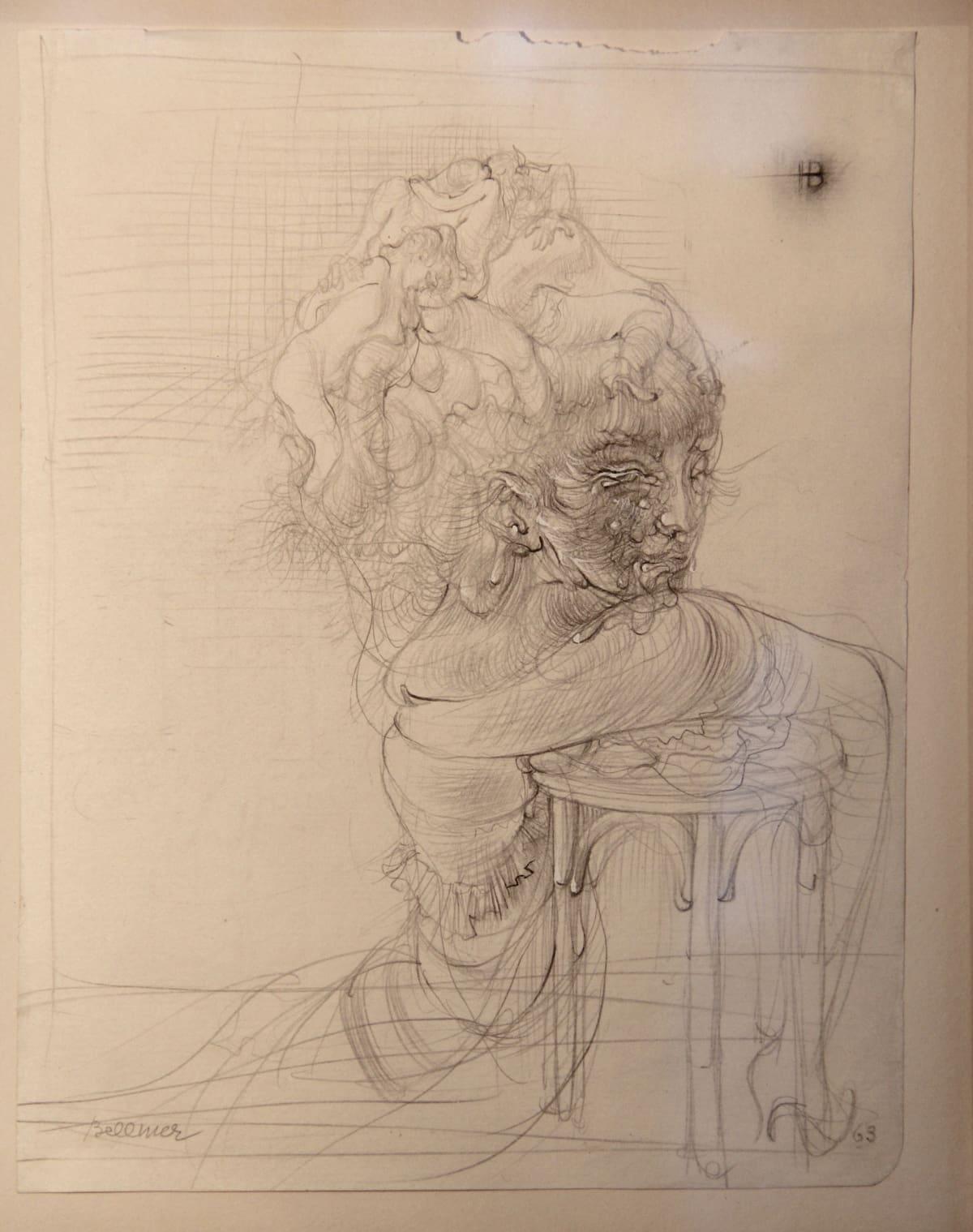Hans BELLMER Sans titre, 1963