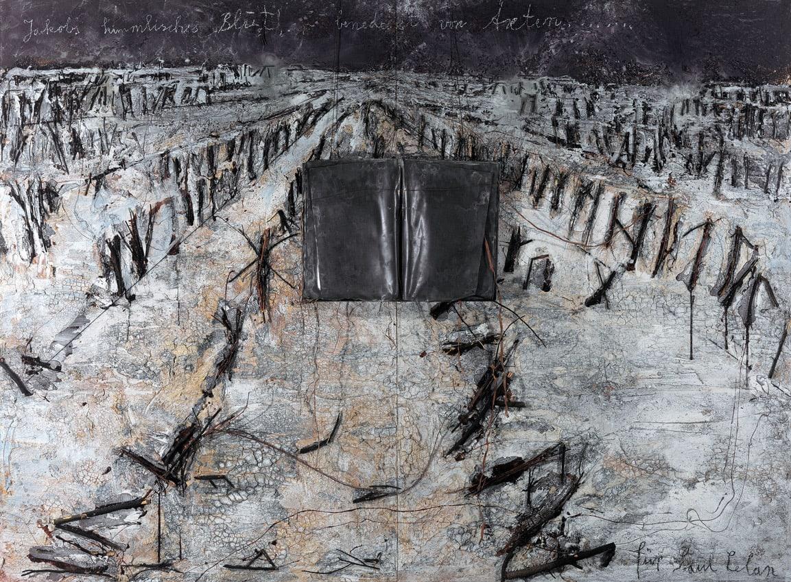 Anselm KIEFER Jacob Himmlisches Blut Für Paul Celan, 2005
