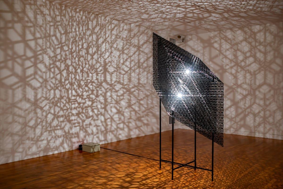 Conrad SHAWCROSS, Slow Arc Inside a Cube X, 2018